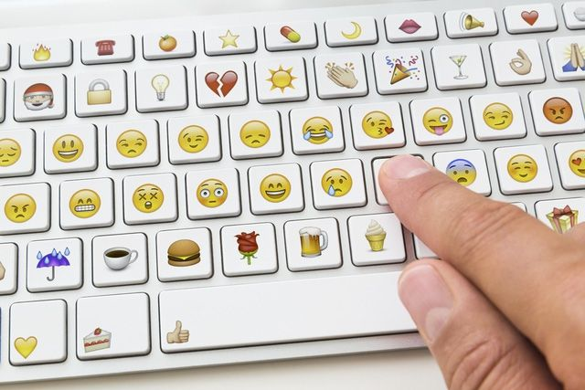 Where to Find Your iPhone's (Secret) Emoji Keyboard: Emoji keyboard.  It's amazing!!!