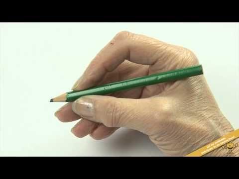 Schrijven met een goede en ontspannen pengreep