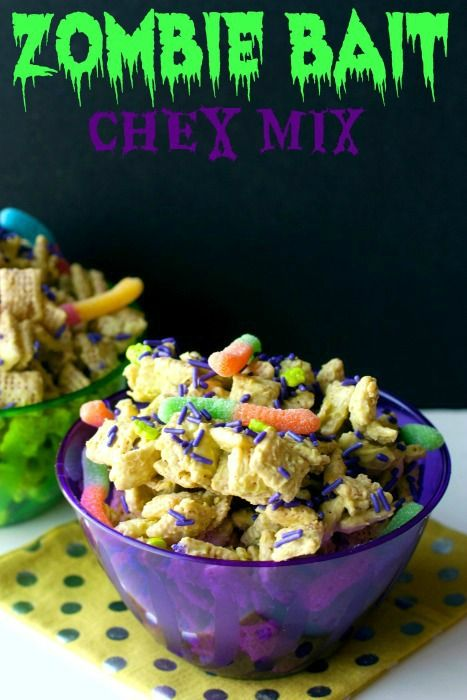 Bait Chex Mix And Zombies On Pinterest