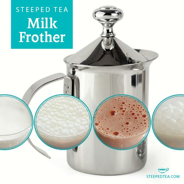 Steeped Tea's fabulous milk frother is put to the test! We ...