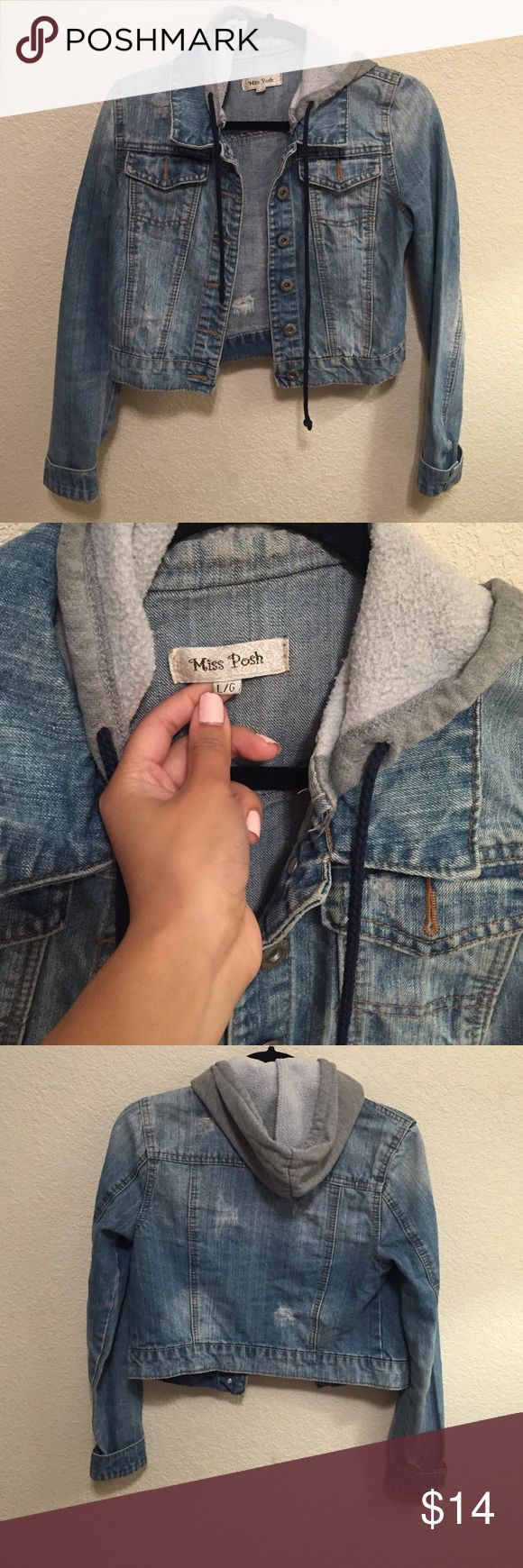 Jean Jacket Light blue Jean Jacket. It says it's a Large, but it actually fits a SMALL perfectly. Comfy fit! Also has a hood. NOT from Forever21, listed only for exposure! Perfect for winter and to layer 💗 Forever 21 Jackets & Coats Jean Jackets