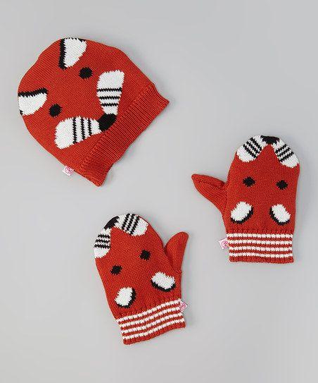 Fox Beanie & Gloves