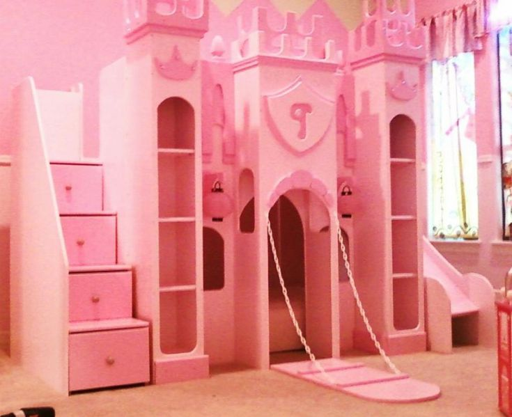 17 best images about girls play room on pinterest loft for Princess castle bedroom ideas