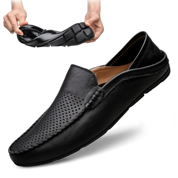 Italian Mens Shoes Casual Luxury Brand Summer Men Loafers