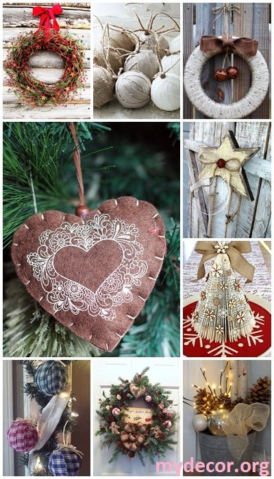 Rustic Christmas Style Looks Very Sweet And Cozy, Itu0027s Inviting And Exactly  What You Need