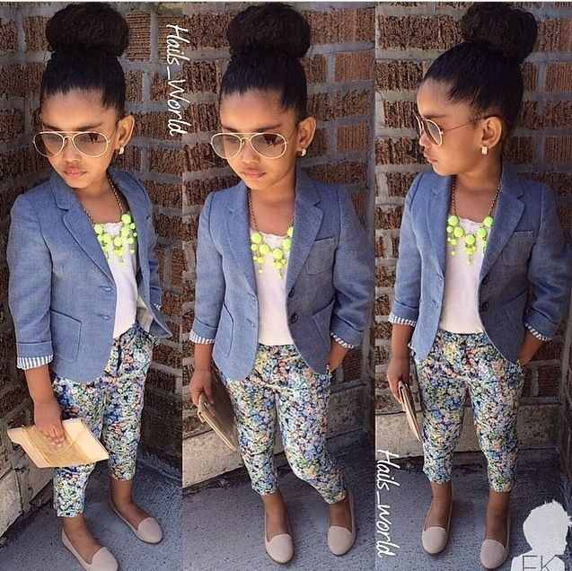 I Love how classy and adorable this little girl looks, she looks like a little…