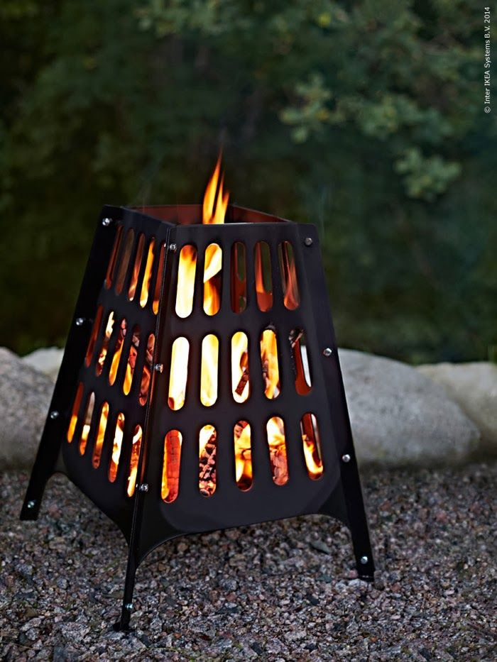 Another nice addition from their summer collection is eldkorgen BROKÖ (fire basket) - I'm not sure if this one is coming to N. America, but ...