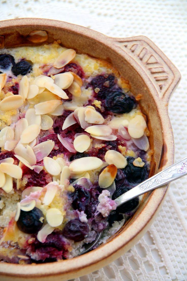 Kuchnia w wersji light: Słodka zapiekanka z quinoa