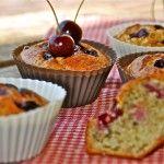 Ik maakte er onder andere deze gezonde muffins met kersen mee. Ze zijn echt heerlijk, ook voor kinderen.