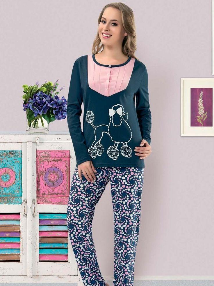 Çizgi karakter baskılı,uzun kollu pijama takımıdır.• Penye kumaştan üretilmiştir • Uzun kollu • Bisiklet yaka • Pembe mavi renk • Ön yaka kısmı düğmeli • Şık çizgi baskılıEvde rahatlığı ve şıklığı yakayabileceğiniz modellerimizden biridirFarklı renk ve desenlerde binlerce ürün çeşid
