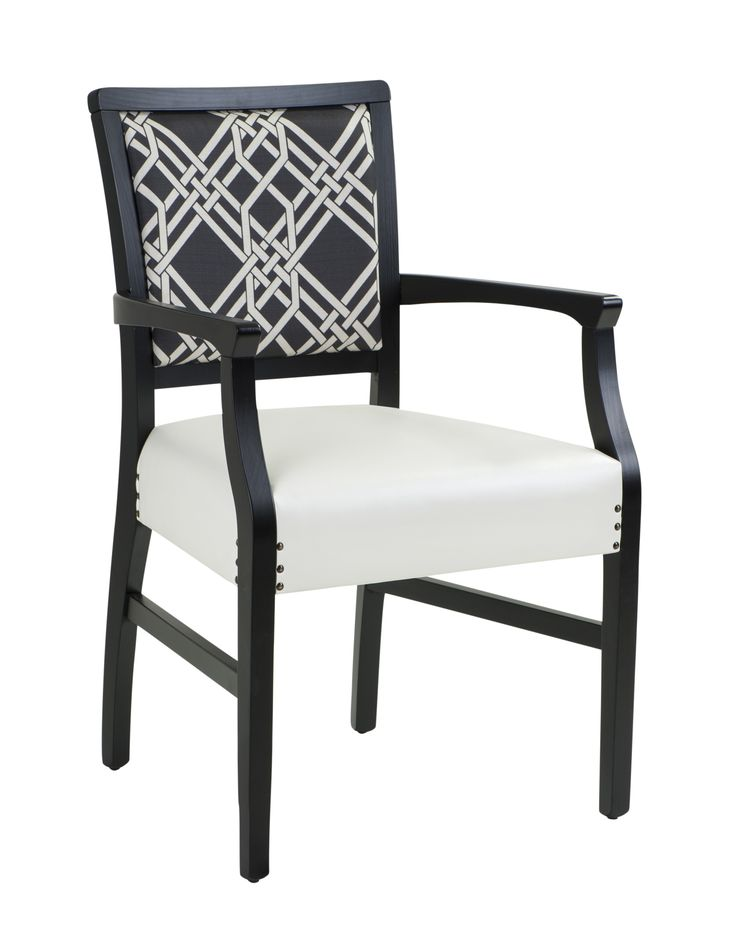 A classic in monochrome colourway. Our Dana Armchair looking dana fine. http://bit.ly/2wqFhdx