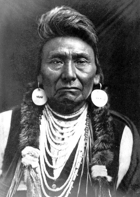 """""""Chief Joseph""""  Hin-mah-too-yah-lat-kekt   (1840-1904)    The man who became a national celebrity with the name """"Chief Joseph"""" was born in the Wallowa Valley in what is now northeastern Oregon in 1840. He was given the name Hin-mah-too-yah-lat-kekt, or Thunder Rolling Down the Mountain.  """"I will fight no more, forever."""""""