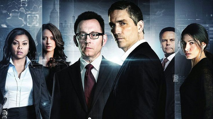 The great cast of Person of Interest Left to right-Taraji P Henson,Amy Acker , Michael Emerson, Jim Caviezel, Keith Chapman,and Sarah Shahi I miss this show...