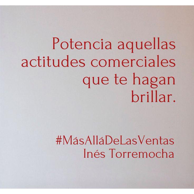 Actitud. #MasAllaDeLasVentas #citas