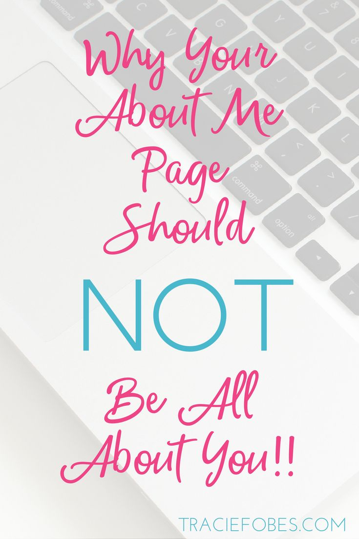 Why Your About Me page is ALL wrong and how to fix it!  How to Blog | Blogging Business | Creating a Blog