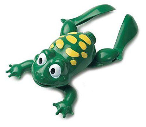 Swimming Frog Bath Toy Liberty Imports http://www.amazon.com/dp/B002BG193S/ref=cm_sw_r_pi_dp_ZN3ywb11B2AZ9