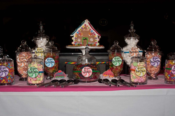 Katy Perry 3D Movie Premier - Lolly buffet!