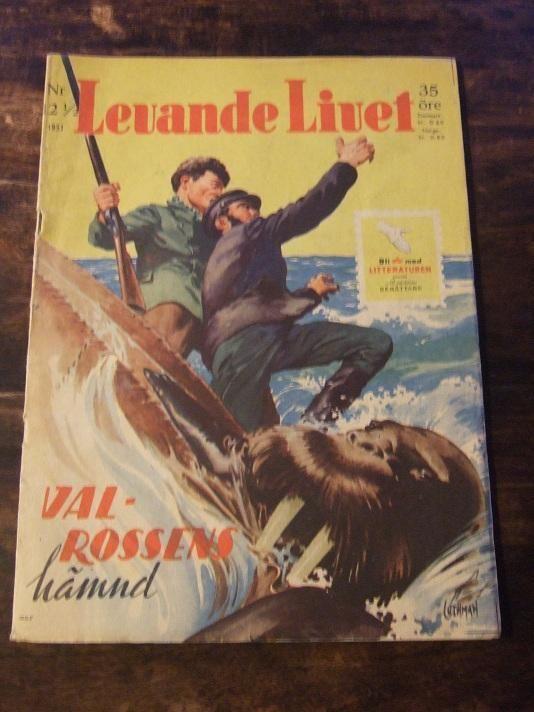 Levande Livet nr. 12 1951 Valrossens hämnd