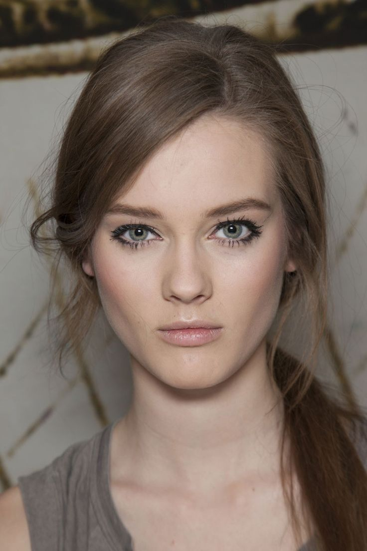 Signature make-up look #1: au naturel.