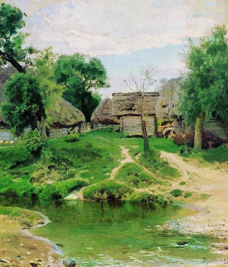 pintura Vasiliya Polenova - 09