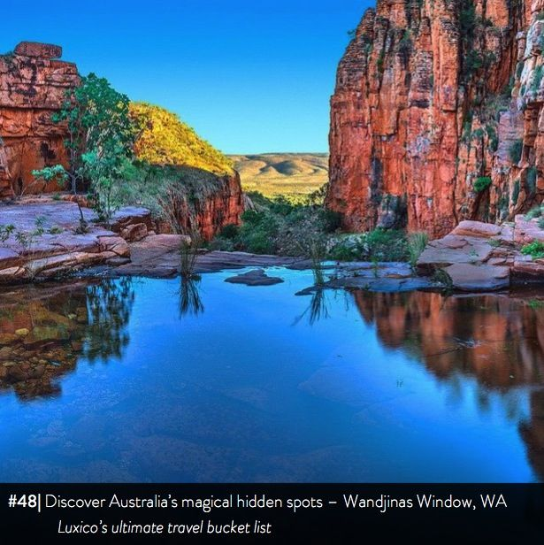 Discover Australia's magical hidden spots, Wandjinas Window, WA - Luxico's ultimate travel bucket list #48