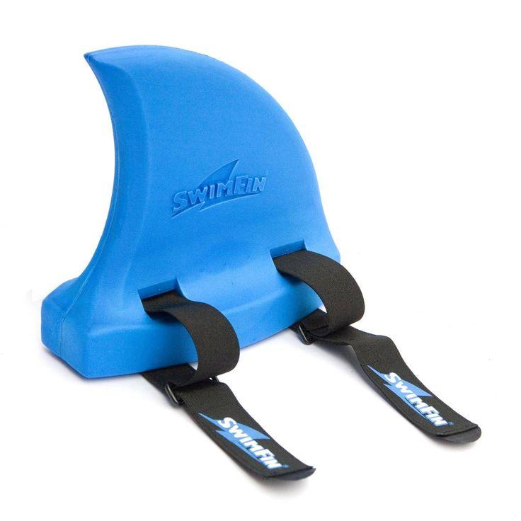 Wat een coole zwemhulp voor kids! De SwimFin, in de vorm van een haaienvin, is een zwemhulpmiddel dat op de rug van jouw kind bevestigd wordt. Het geeft drijfvermogen en is ideaal om kinderen mee te laten wennen aan het water.