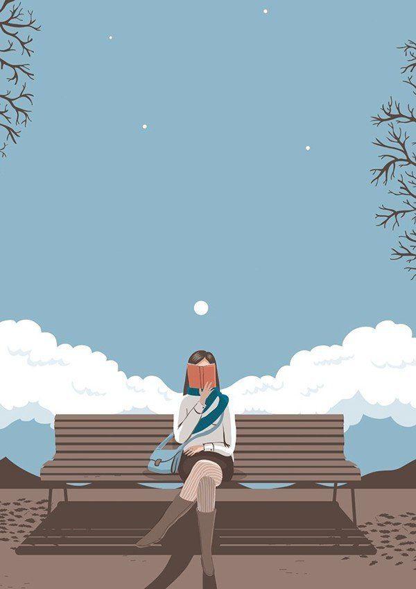 Mi soledad y mi libro. Me basta!!!!