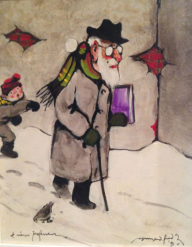Peintre Hudon Normand | GALERIE D'ART DOUCE PASSION