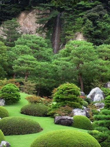 456 best japanese garden pictures and asian landscaping for Formal japanese garden
