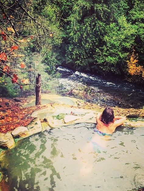Umpqua Hot Springs in Roseburg, Oregon
