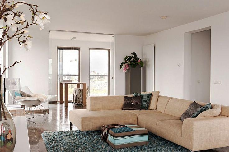 Modern appartement amsterdam meer interieur inspiratie vind je op woonkamer - Interieur decoratie modern appartement ...
