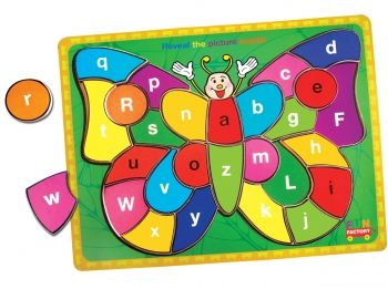 Fun Factory Alphabet Butterfly Puzzle $12.95