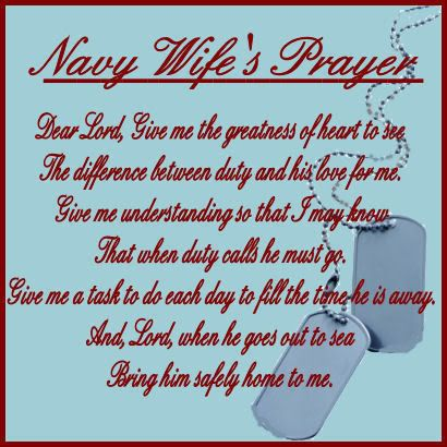navy wives prayer