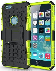 BEST iPhone 6S / iPhone 6 Case, Cocomii® [HEAVY DUTY] Grenade Case *NEW* [Ultra Titan Armor] Premium Shockproof Kickstand Bumper Case - Full-body Rugged Hybrid Protective Cover Bumper Case for Apple iPhone 6S / iPhone 6 • Unique, rugged design with style and the utmost protection • Raised edge around the front lip for face-down protection • Extreme Protection from drops and scratches • Unique, slide-out kickstand for ease of video viewing • 5% Off Coupon Code 6BXA7NOZ This Week Only!
