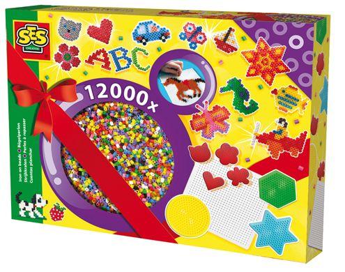 #Bügelperlen Set - Luxuspackung -  Eine tolle Idee zum #Geburtstag, wenn Ihr Kind dem #Bügelperlenfieber auch verfallen ist. Ein sehr beliebter #Klassiker.