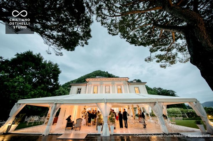 villa geno lake como wedding location
