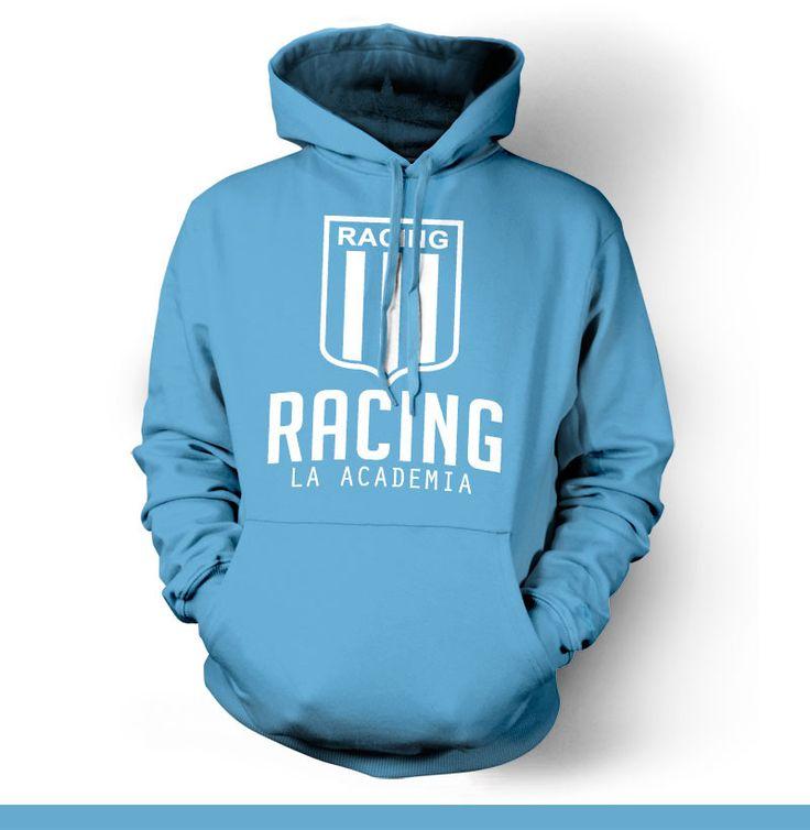 Racing Club Avellaneda Argentina Hoody Sweatshirt Buzo