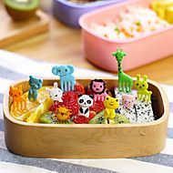 Animal+Shaped+Food+Picks+Snack+Party+Forks+10-Pie...+–+USD+$+8.99