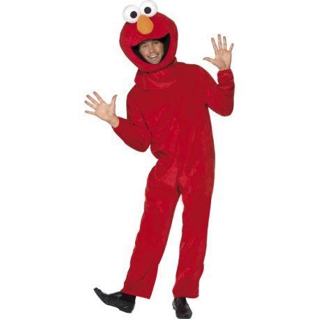 #Disfraz #Elmo #Barrio #Sésamo Perfecto para tus fiestas, mercadisfraces tú #tienda de #disfraces #online