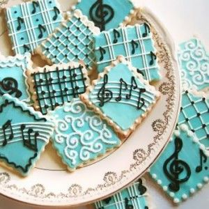 music cookies - I wonder could I make these?