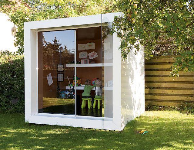 petite maison dans le fond du jardin