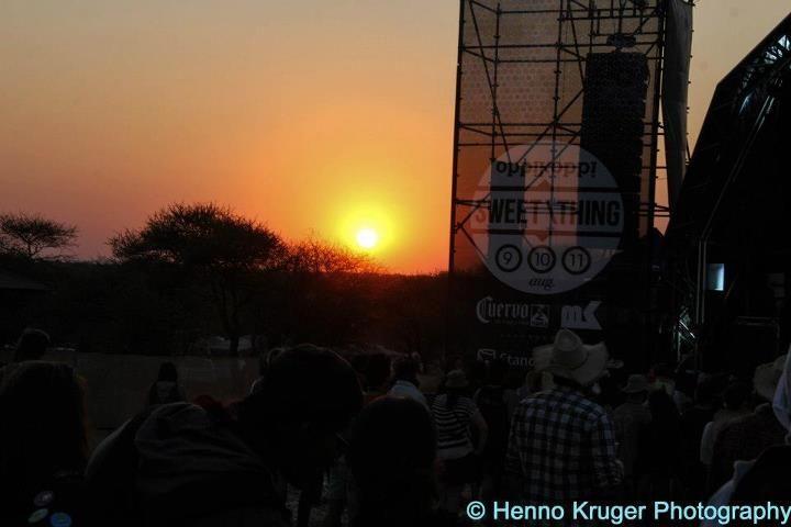 Sunset at Oppikoppi 2012 Sweet Thing