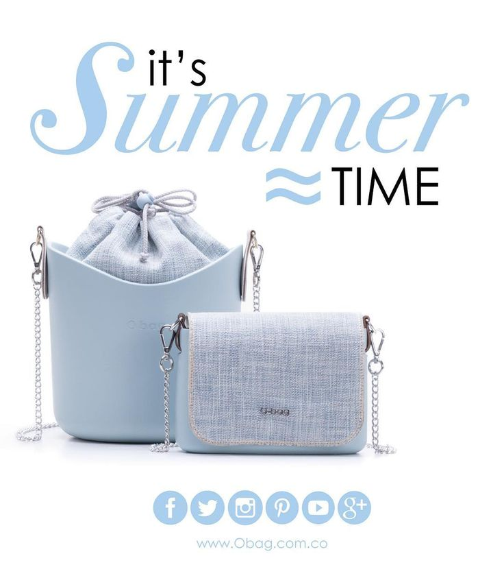 It's summer time... www.Obag.com.co