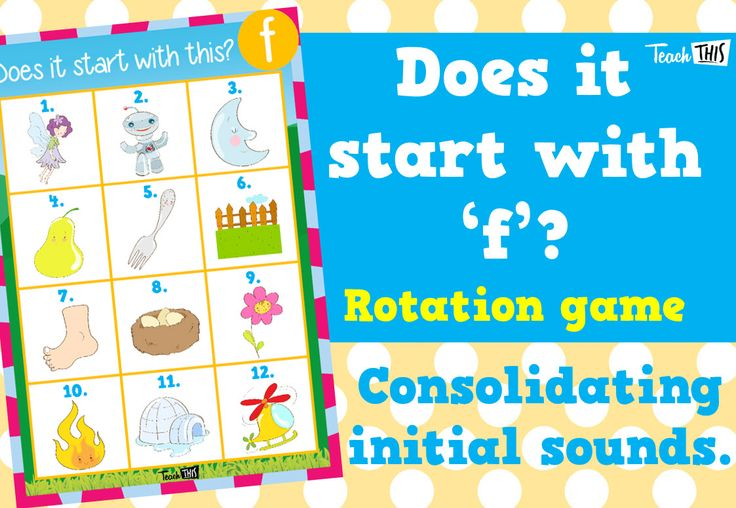 Does it start with this f Classroom games, Phonics