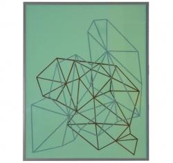 Komposition nr. 18, paper cut