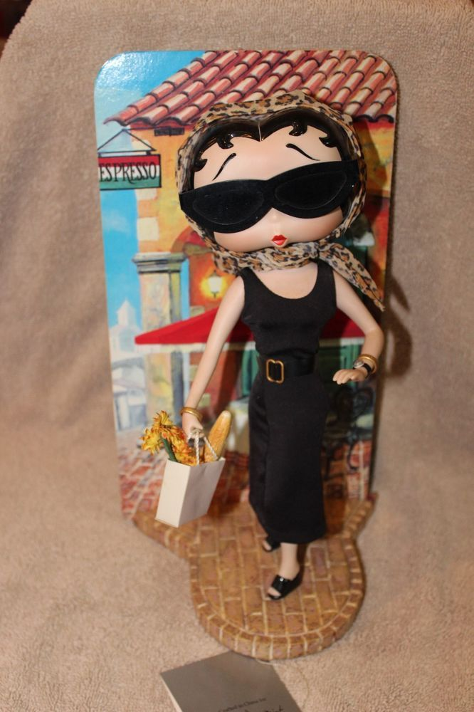 Betty Boop in Paris Porcelain Collector Doll by the Danbury Mint