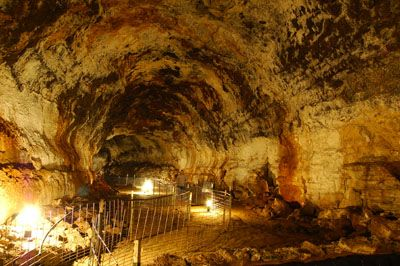 Idaho's Mammoth Cave- Shoshone, ID -Idaho's Mammoth Cave is the largest volcanic cave in the WORLD open to the public.