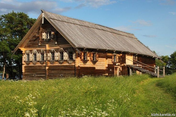 Дом Сергеева из д. Логморучей — Русские Заонежья |     Памятники деревянного зодчества |     Музей-заповедник «Кижи»
