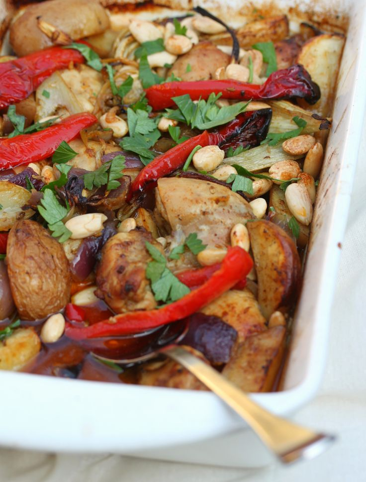 Chicken, Fennel And Potato Bake - Cooking with Tenina