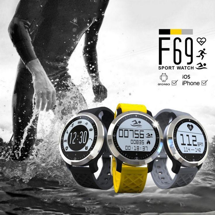 Smart Sportuhr Wasserdichte Schwimmen Schlaf Pulsmesser Schrittzähler Wecker Sync Notifier Smartwatch Tragbares Gerät //Price: $US $49.00 & FREE Shipping //     #smartuhren